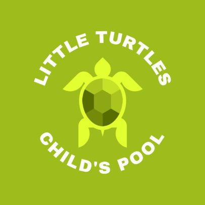 Swimming Logo Template for a Children's Swim Team 1578c