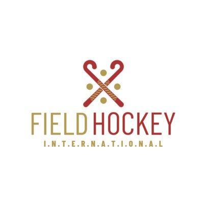 Minimalistic Field Hockey Logo Maker 1620d