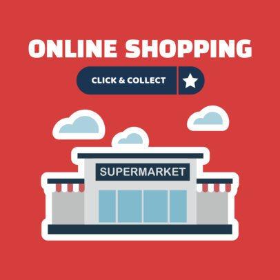 Banner Maker for Online Grocery Shopping 524c