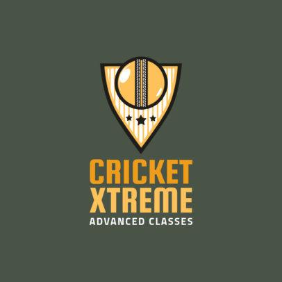 Cricket Logo Maker 1653
