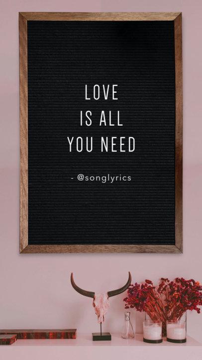 Lovely Instagram Story Maker for Valentine's Day 1054b