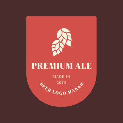 Brewery Logo Maker for a Premium Beer 1657b