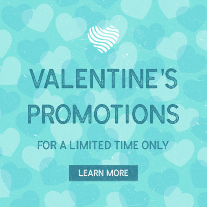 Ad Banner Maker for Saint Valentine's Day 1051c