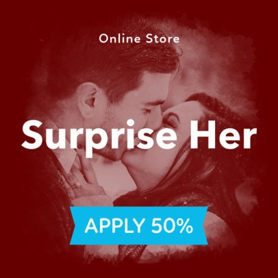 Valentine's Day Banner Maker for a 50% Discount 1047b