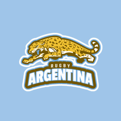 Rugby Team Logo Maker 1616a