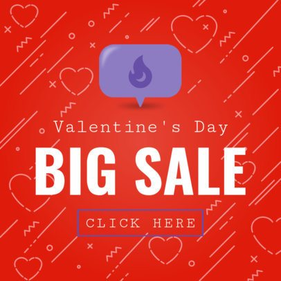 Valentine's Day Banner Maker for a Big Sale 1056a