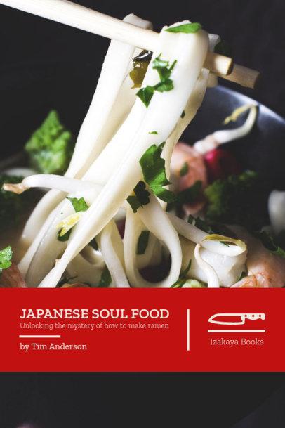 Japanese Cookbook Cover Maker 908e