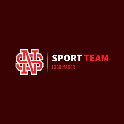 Varsity Sports Logo Maker 1689b
