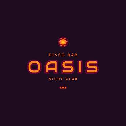 Night Club Logo Template 1679