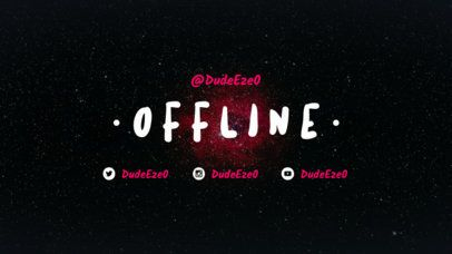 Simple Offline Twitch Banner Maker 979e