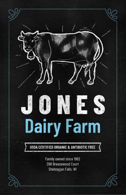 Online Flyer Maker for an Organic Farm 265e