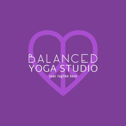 Yoga Studio Logo Creator 1369c