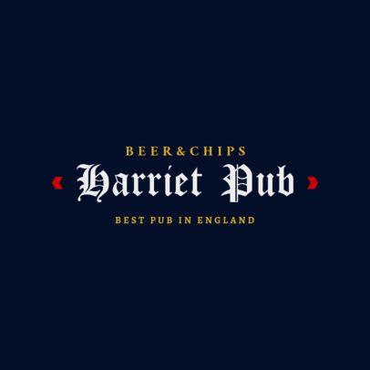 Pub Logo Maker 1682b