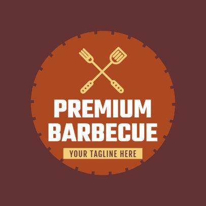 Premium Barbecue Logo Generator 1677c