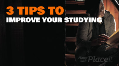 Slideshow Maker for a Step by Step Studying Video 1076