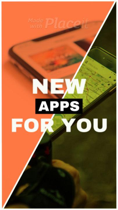 Instagram Story Video Maker for an App Promo Video 268b1018