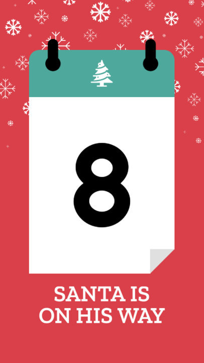 Christmas Countdown Instagram Story Template 1000a