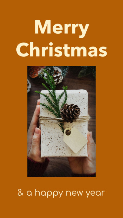 Instagram Story Template for a Holiday Promo 985b