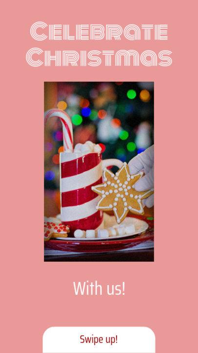 Instagram Story Maker for a Christmas Celebration Sale 985e