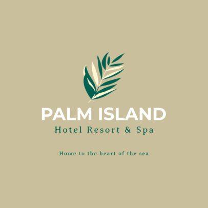 Resort and Spa Logo Generator 1761d