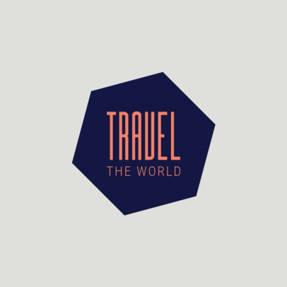 Easy Logo Maker for Travel Tour Guide 1346e
