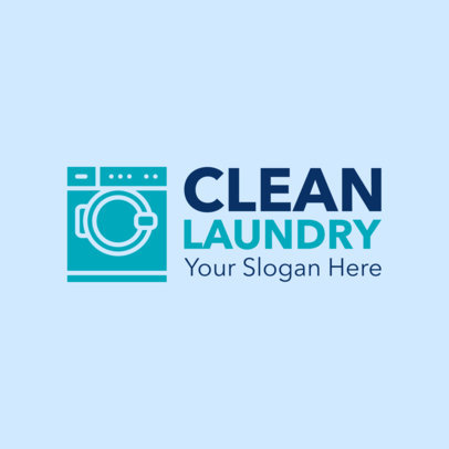 Laundry Logo Maker for a Laundromat 1775