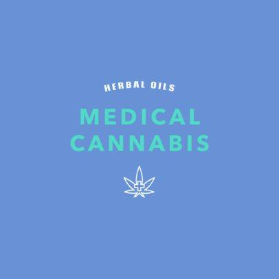Medical Marijuana Logo Maker for a Medical Cannabis Company 1782e