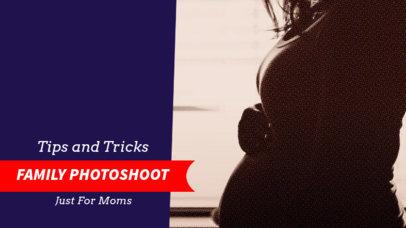 Family Youtube Channel Thumbnail Maker for Moms 896b