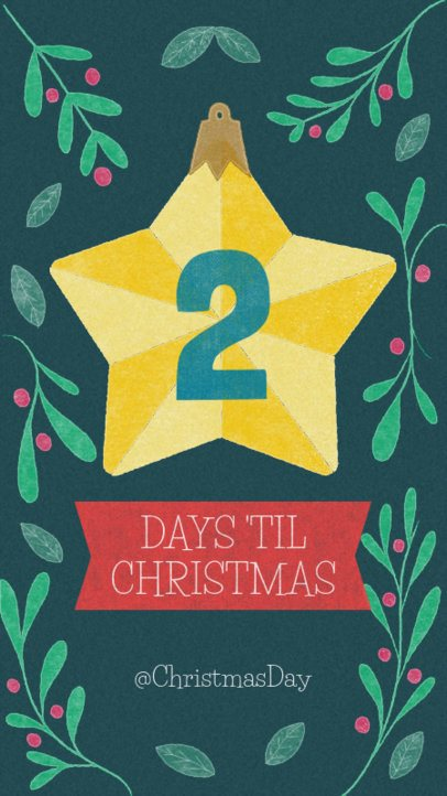 Christmas Countdown Instagram Story Maker 999b