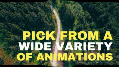 Animated Slideshow Maker with Landscape Backgrounds 448c1151