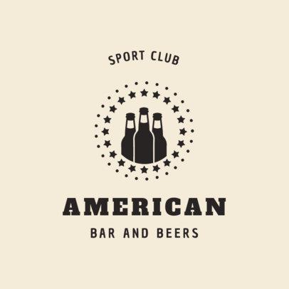 American Sports Bar Logo Maker 1684e
