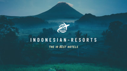 YouTube Banner Maker for a Hotel Review Vlog 1079e