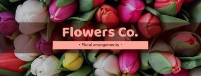 Facebook Cover Maker for Flower Shops 1085a