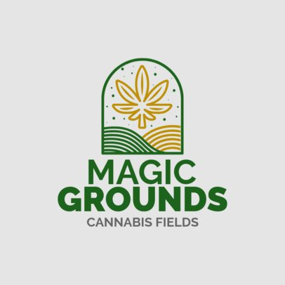 Hemp Logo Maker for a Cannabis Store 1781e