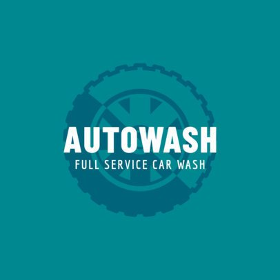 Auto Wash Logo Maker 1757e