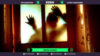 Twitch Overlay Maker for Horror Gaming Streamers 1072