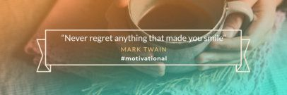 Twitter Header Generator for a Quote Image 1094