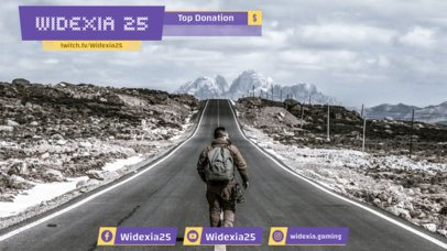 Twitch Overlay Template for Livestream Twitch Accounts 1066d
