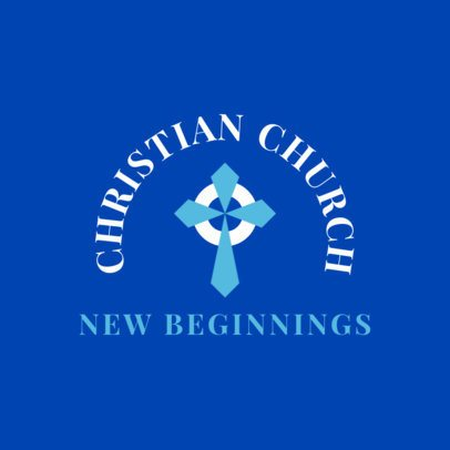 Classy Logo Generator for a Christian Church 1768b