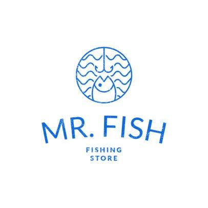 Fishing Logo Maker for a Fishing Store 1794a