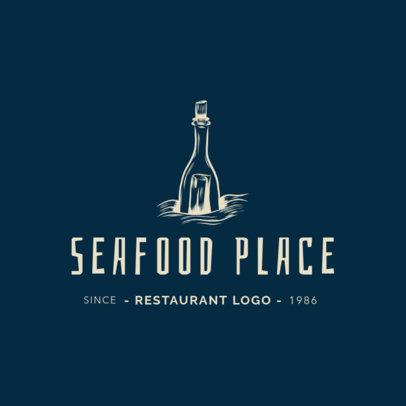 Logo Maker for an Elegant Seafood Restaurant 1797