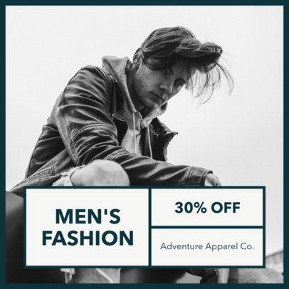 Instagram Post Maker for Men's Fashion Brands 1101e