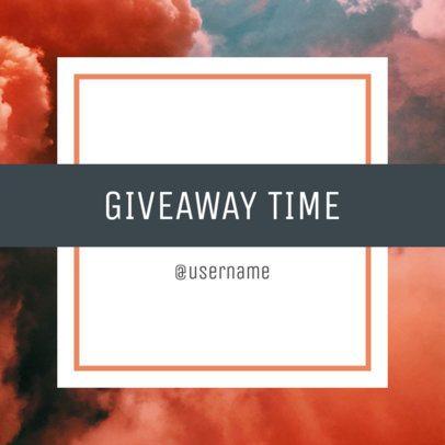Giveaway Instagram Post Creator 1104e