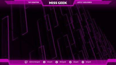 Twitch Overlay Maker for Gamer Girls 1070c