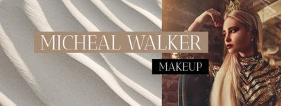 Beautiful Facebook Cover Maker for a Makeup Page 1084e