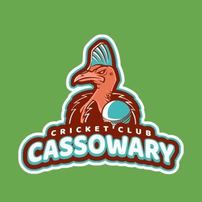 Cool Cricket Club Logo Maker 1651d