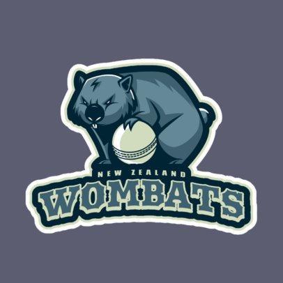National Cricket Team Logo Maker 1651e