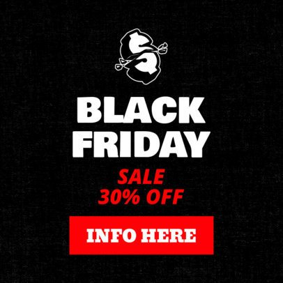 Black Friday Sale Banner Maker with Money Clipart 755