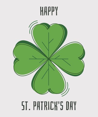 St. Patrick's Day T-Shirt Design Maker 1130