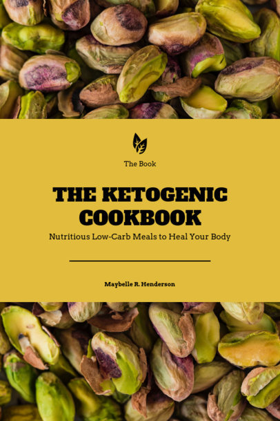 Ketogenic Cookbook Cover Maker 922d